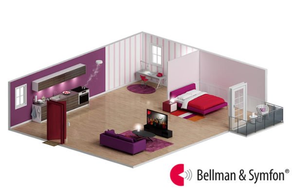 Esquema de sistemas de avisos Bellman & Symfon
